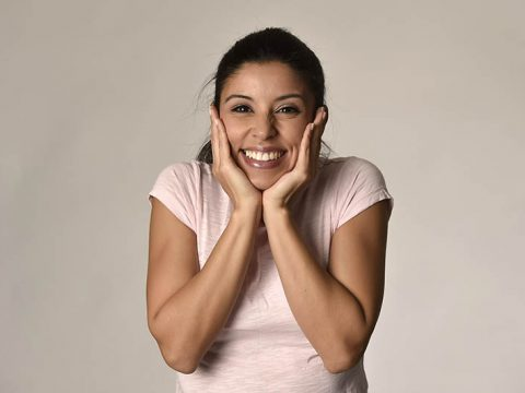 woman with great dental health